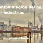 Contaminacion del agua por industrias